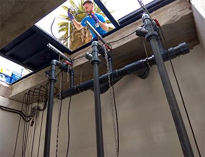Instalación Estación Evacuación de Aguas Pluviales